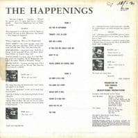 THE HAPPENINGS Bye-Bye, So Long, Farewell Vinyl Record LP Fontana 1966.
